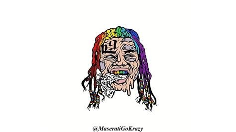 Drawing 6ix9ine by 6ix9ine Drawing Pictures To Pin On Thepinsta