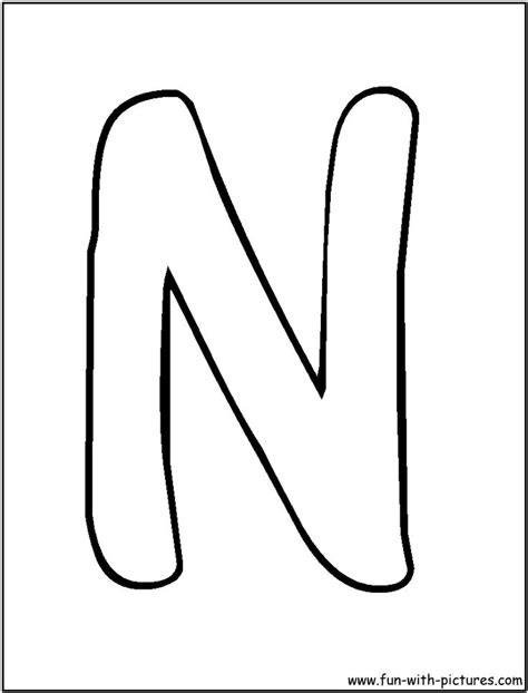 n coloring pages preschool letter n coloring pages for preschool preschool crafts