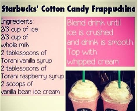how to make cotton at home best 25 cotton frappuccino ideas on