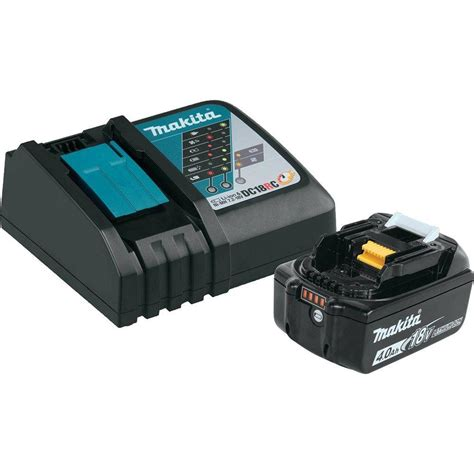 makita 18 volt lithium ion charger makita 18 volt lxt lithium ion high capacity battery pack