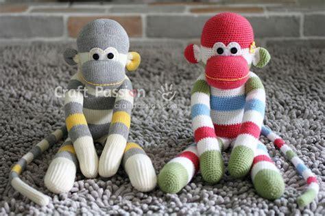 sock animals sewing pattern sock monkey free sewing pattern craft