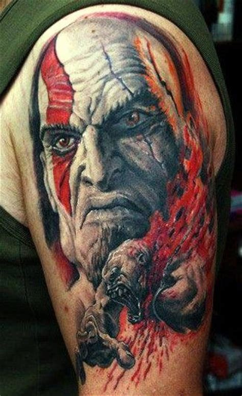 kratos tattoo tattoos and on