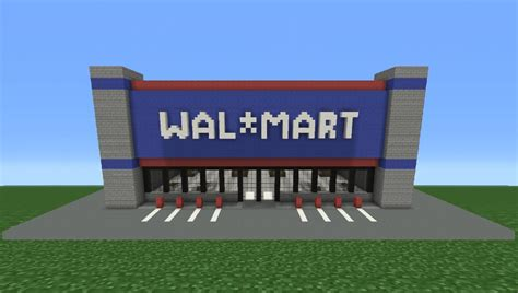 walmart make minecraft tutorial how to make walmart