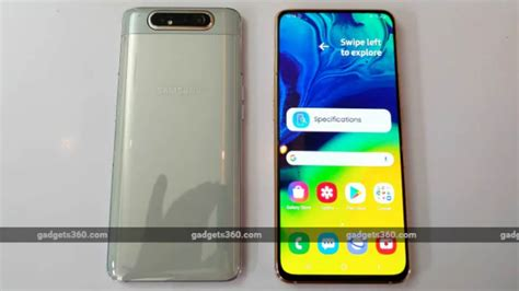 Samsung Galaxy A80 Launch Event by Samsung Galaxy A80 India Launch Could Reportedly Happen As Early As Next Week Technology News