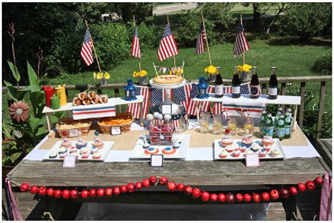 welcome home party decorations budget friendly patriotic themed party pizzazzerie