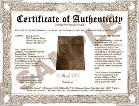 photography certificate of authenticity template girlshopes