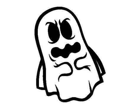 imagenes terrorificas animadas dibujo de fantasma asustado para colorear dibujos net