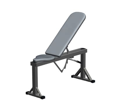 modells weight bench adjustable weight bench 3d model 3dsmax files free