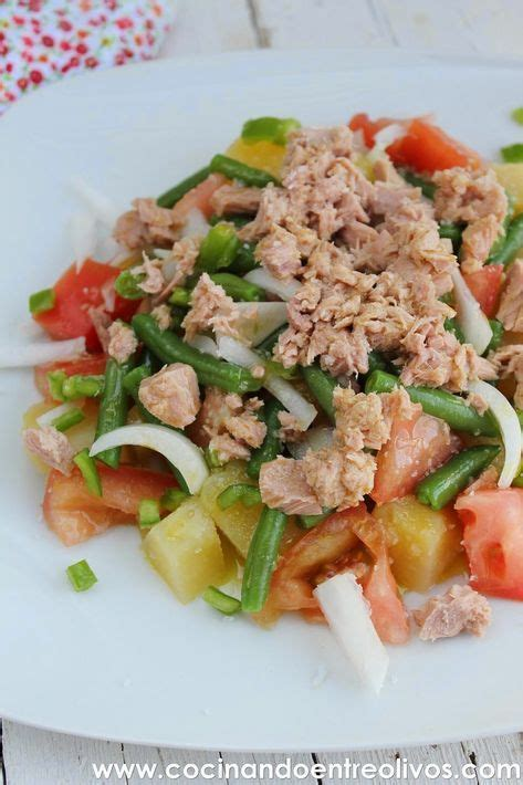 cocinar entre olivos cocinando entre olivos ensalada de patata tomate y