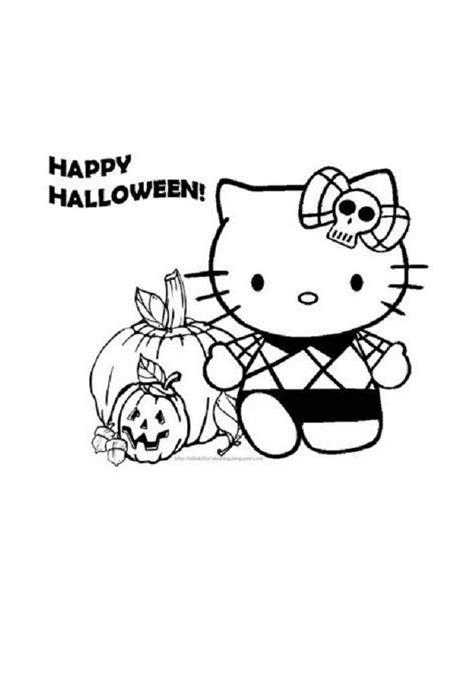 imagenes de hello kitty para halloween hello kitty dibujos para colorear