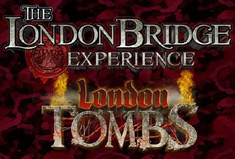 the london bridge experience london tombs prepare to be scared video of the london