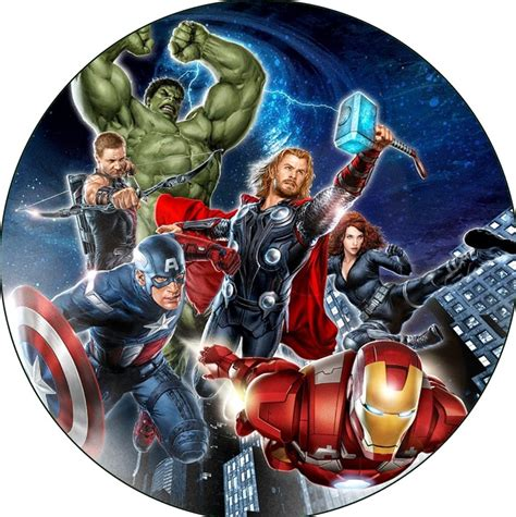 Easy Cake Decoration At Home by Avengers Cake Icing Image This Party Started