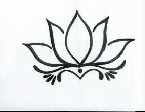 Lotus Flower Design 25 Best Ideas About Simple Lotus On
