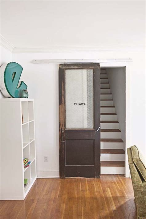sliding door at the bottom of the stairs would i need a 3 - Stairway Door