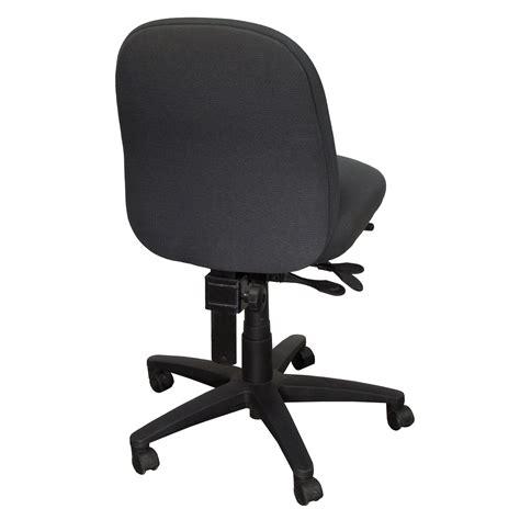 armless task chair buzz seating pronto armless task chair gray national