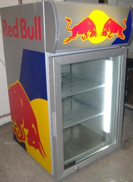 red bull fridge basement inspiration home accessories