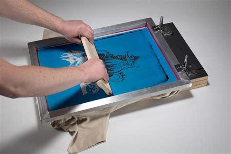 Siebdruck Selber Machen by Siebdruck Selber Machen Siebdruckanleitung F 252 R Einsteiger