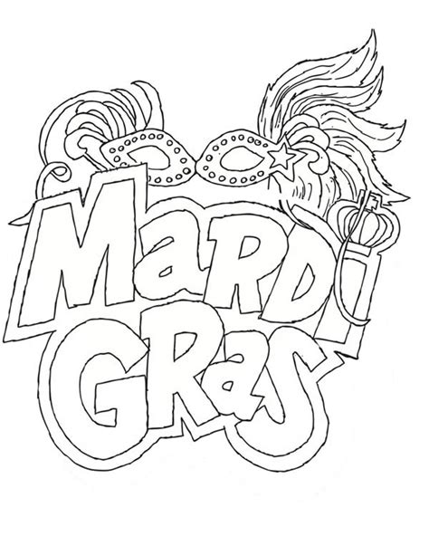 celebrate mardi gras with a free coloring page angry mardi gras coloring pages getcoloringpages com