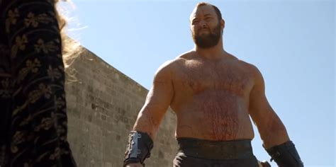 Teh Mountea this of thrones actor got the by lifting