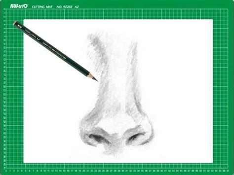 imagenes de narises a lapiz curso de dibujo a l 225 piz cap 10 quot la nariz de frente quot youtube