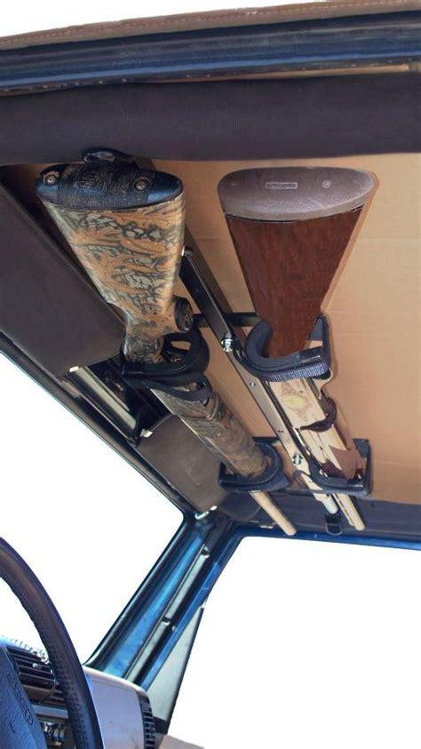 Jeep Rifle Rack Draw Overhead Gun Rack For Jeep Wrangler