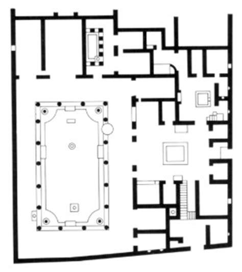 house of the vettii floor plan pompei virtual tour slide 62