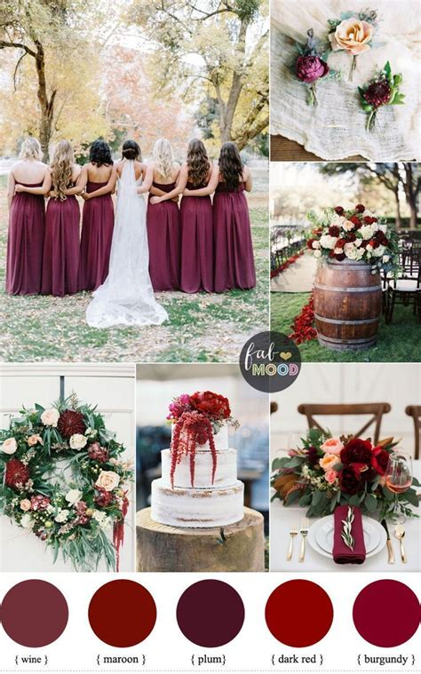 best 25 wedding ideas on maroon wedding colors fall wedding colors and