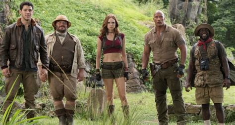 jumanji film review film review jumanji welcome to the jungle indaily