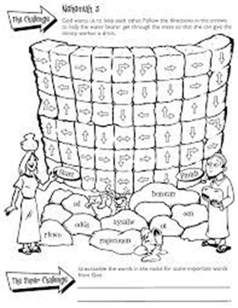 coloring page for nehemiah rebuilding the wall 1000 images about bible nehemiah on pinterest kids