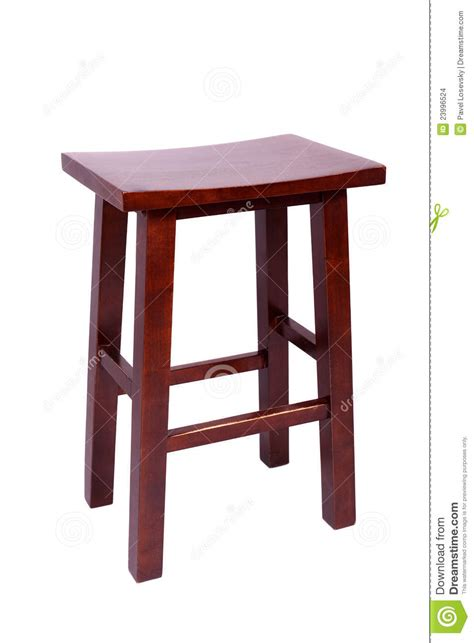 Simple Stool by Small Simple Stool Isolated On White Stock Images Image