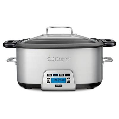 Electric Multi Cooker Aowa cuisinart 174 7 qt electric multi cooker stainless steel msc 800 target