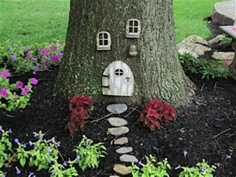 elf house on a tree pinterest the world s catalog of ideas