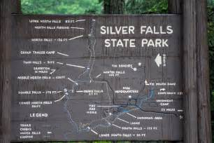 Silver Falls State Park Map by Staying Dry On Trail Of Ten Falls With K 220 Hl Jetstream