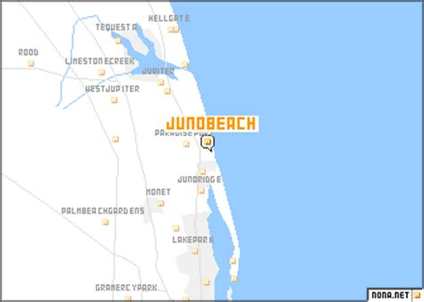map of juno florida juno united states usa map nona net