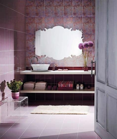 Badezimmer Dekorieren Lila by Lila Zimmer Erscheinen Als Eyecatcher Im Haus