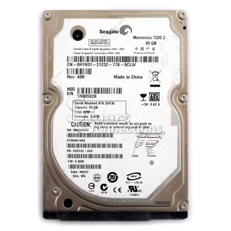 Hdd Seagate 80gb stuart connections inc