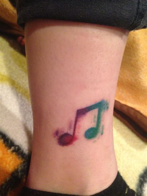 watercolor tattoo music watercolor my style