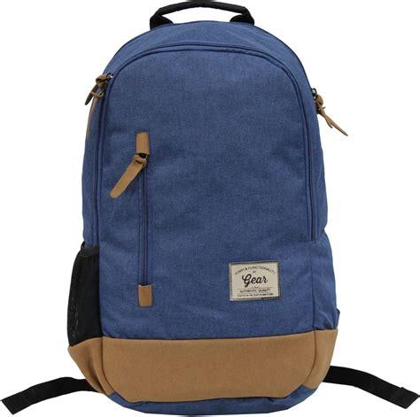 gear cus 8 backpack 24 l backpack royal blue brown price in india flipkart