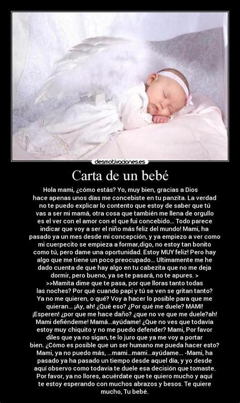 carta para el bebe danygy fotolog im 225 genes y carteles de bebe pag 134 desmotivaciones