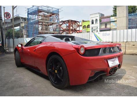 Kaos Mobil Ferarri 458 Spider jual mobil 458 2012 spider 4 5 di dki jakarta automatic convertible merah rp 5 500 000