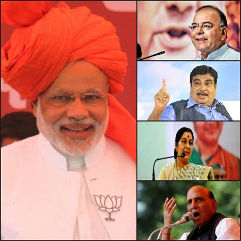 List Of Modi Cabinet by Narendra Modi Announces List Of Cabinet Ministers With