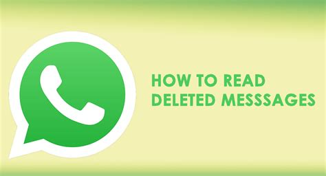 how to find deleted messages on android how to read deleted whatsapp messages goandroid