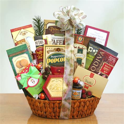 start the holiday gift baskets free shipping