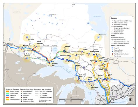 northern ontario map discussion paper northern ontario multimodal
