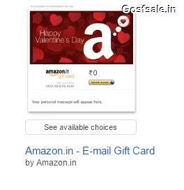 Amazon Gift Card Offer - amazon valentine s day email gift cards offer upto rs 150 off feb offers 2018