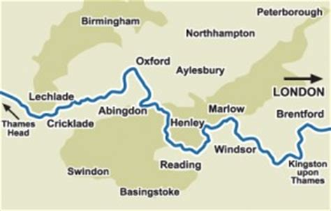 tidal river thames map route maps