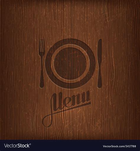 restaurant menu design royal style on dark background vectors stock