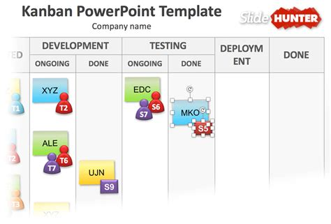 Free Kanban Board Templates For Powerpoint Kanban Board Template Free