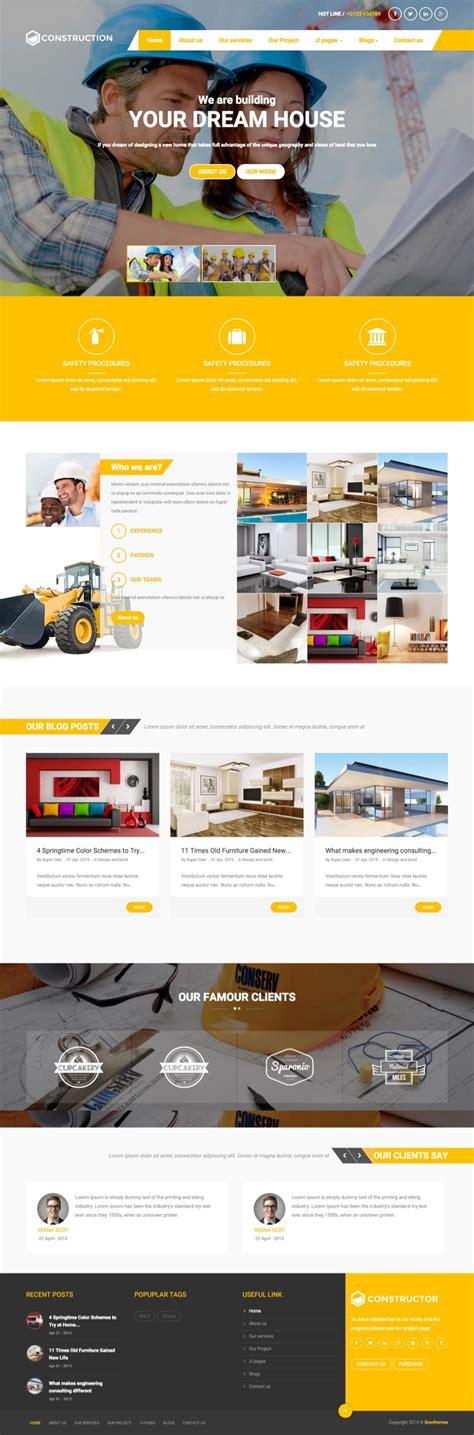 bt construction joomla template for architecture builders