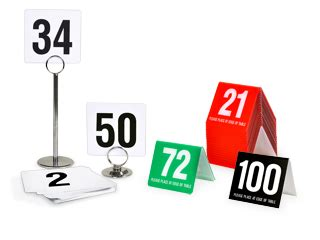 restaurant table number stands restaurant table tents table numbers table number stands